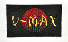 V-MAX RISING SUN EMBROIDERED SEW ON BADGE-YAMAHA
