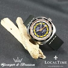 1960's YONGER & BRESSON Vintage Profondimètre Dive Watch Automatic ETA Cal. 2783