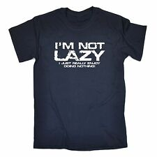 Not Lazy Just Really Enjoy Doing Nothing T-SHIRT Couch Gym Funny Gift birthday