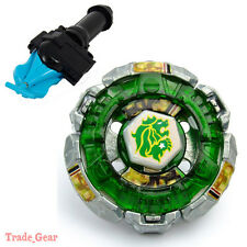 BB106 Fang Leone BEYBLADE Masters Fusion Metal Fight+GRIP+BLUE SPIN LAUNCHER