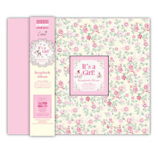 Dovecraft  - It's a Girl Scrapbook Album - FEALB006 - FREE UK P&P
