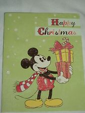 Disney Happy Christmas Holiday Cards Set 6 Mickey Mouse Gifts Greeting