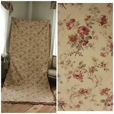 Antique French 1890 Curtain drape Romantic  vintage look Victorian period