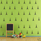 Eiffel Towers Removable wall stickers Vinyl decal for home, kids room or nursery
