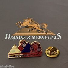 Pin's Folies *** Demons et Merveilles Automobile Rallye Pharaons Egypt Air