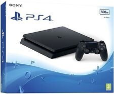 SONY PLAYSTATION 4 PS4 SLIM 500 GB CONSOLE LATEST BRAND NEW IMPORTED