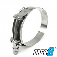 1PC 2.25″ (2.49″-2.8″) 301 Stainless Steel T Bolt Clamps Hose Clamp 63mm-71mm