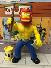 Playmates The Simpsons World of Springfield WoS Series 8 Ragin Willie Figure