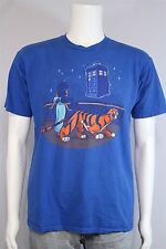 Tee Fury Adult MEDIUM Dr Who Tardis Aladdin Jasmine New World Universe T-shirt