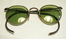 Vtg B&L FUL-VUE 23 SAFETY GOGGLE/GLASSES Bausch/Lomb/American/Optical steampunk