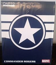 MEZCO ONE 12 COLLECTIVE MARVEL COMMANDER RODGERS COLLECTORS FIGURE