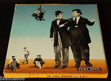 *** FILM SUPER 8 NB MUET 120 METRES - LAUREL ET HARDY- UN SALE BOULOT ***