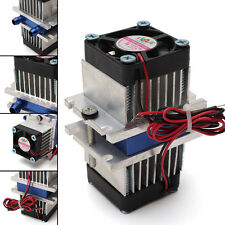 1pc DIY kit Thermoelectric Cooler Refrigeration Cooling System + fan