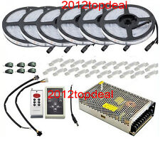 30M 5050 RGB Dream Color 6803 LED Strip + 6803 RF Remote Controll +Power adapter