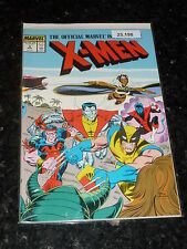 THE OFFICIAL MARVEL INDEX TO THE X-MEN - No 4 - Date 11/1987 - MARVEL