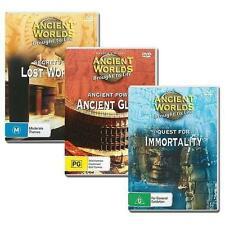 ANCIENT WORLDS BROUGHT TO LIFE - 3 DVD SET - ANCIENT POWER, LOST WORLDS & MORE