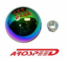 NEOCHROME BILLET ROUND RACING SHIFT KNOB FOR 02-09 NISSAN 350Z Z33
