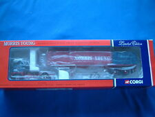 CORGI CC12609 - SCAMMELL CRUSADER SHEETED FLATBED TRAILER - MORRIS YOUNG