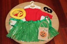 American Girl Doll Molly Ret. FIRST VERSION Hula Haloween Outfit, Pleasant Co.!