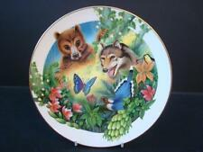 ROYAL DOULTON JUNGLE BOOK BALOO AND SHE WOLF COLLECTOR PLATE