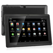 Nuevo 7 pulgadas Android 4.4 Quad Core Tablet PC 8GB Wifi Bluetooth HD Touch pantalla UK