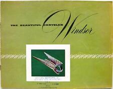 Chrysler Windsor-COCHE FOLLETO de ventas - 1951 - #CS-272