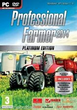 Professional Farmer 2014 Platinum Edition Farming Simulator for (PC DVD) NEW