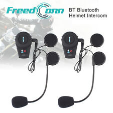 2 x 500M Moto BT Bluetooth Multi 2-vie Interphone Cuffie Interfono Casco
