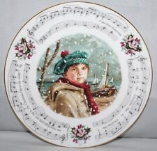 "Royal Doulton - I Saw Three Ships, Christmas 1986 - 8 1/4"" Plate - vgc"