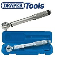 "Draper - 3/8"" SQUARE DRIVE 10 80 NM OR 88.5 708 IN-LB RATCHET TORQUE WRENCH"