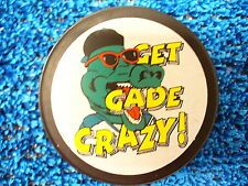 ECHL Louisisana IceGators Get Gade Crazy Team Logo Hockey Puck AHL NHL IHL Pucks