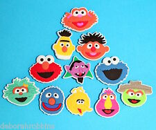 11 Sesame Street Shoe Charms Decorations Cake Cupcake Toppers Party Elmo NEW
