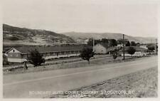 Photo. ca 1954. Osoyoos, BC Canada. Boundary Auto Court