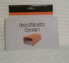CARPET TRATOR  can be used on all types of carpet. The rollers hav