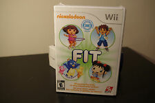 Nickelodeon Fit (Nintendo Wii, 2010) New / Factory Sealed