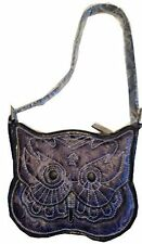 Designer Brentano Owl Bag Purse Handbag Collectible Purple New