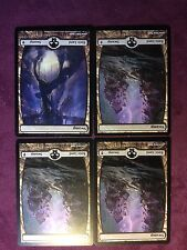 X4   FULL ART Swamp divers     - MTG Magic   (see scan)