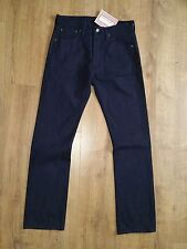 Levis Deadstock Japan Yosuke Fleck Navy Blue Jeans W31 L32 RRP £305 New