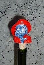 "OLE MISS REB COLONEL BOTTLE TOPPER MADE OF GEORGIA MARBLE  2 1/2"" NEW"