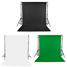 6 x 9ft Screen Muslin Photo Studio Photography Backdrop Background 3 Colors New