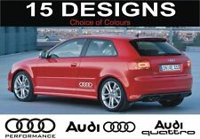 audi s3 s4 s5 s6 a3 a4 a5 a6 s line audi quattro decals stickers 2 off audi