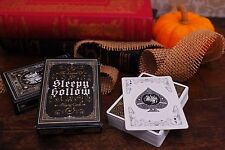 SLEEPY HOLLOW PLAYING CARDS DECK 1ST EDITION