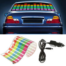 Car Sticker Music Rhythm LED Flash Light Sound Activated Equalizer Car Light