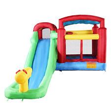 Goplus Inflatable Moonwalk Water Slide Pool Bounce House Jumper Bouncer Castle