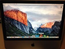 "APPLE iMAC 20"" INTEL OFFICE 2011 ADOBE PHOTOSHOP MICROSOFT OS X DESKTOP WEBCAM"