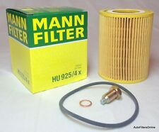 BMW OEM MANN Oil Filter Kit & Magnetic Oil Drain Plug E53 X5 3.0 Z4 2.5i 3.0i