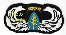 Gros insigne tissus US Army - SFGA - Special Forces Group Airborne