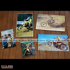 ★ ERIK GEBOERS (ERIC)  ★ Moto Photos Clipping 1973-1982 Pictures Magazine #DC61