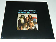 NINE DAYS WONDER - We Never Lost Control / (Re.) Long Hair Music   / Vinyl LP