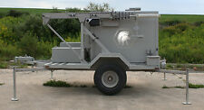 2010 QUICK DEPLOYMENT Communications shelter trailer with diesel GenSet 40' mast